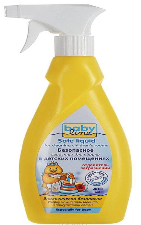 BABYLINE Безопасное средство для уборки детских помещений