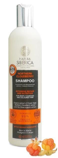 Natura Siberica Шампунь для волос Северная морошка 400мл