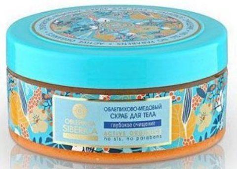 Natura Siberica Скраб облепихово-медовый для тела 300мл
