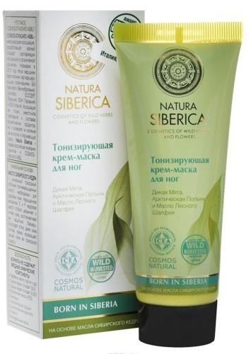 Natura Siberica Крем-маска д/ног тонизирующая 75мл