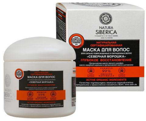 Natura Siberica Маска для волос Северная морошка 370мл