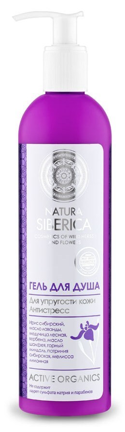 Natura Siberica Гель д/душа Для упругости кожи  400 мл