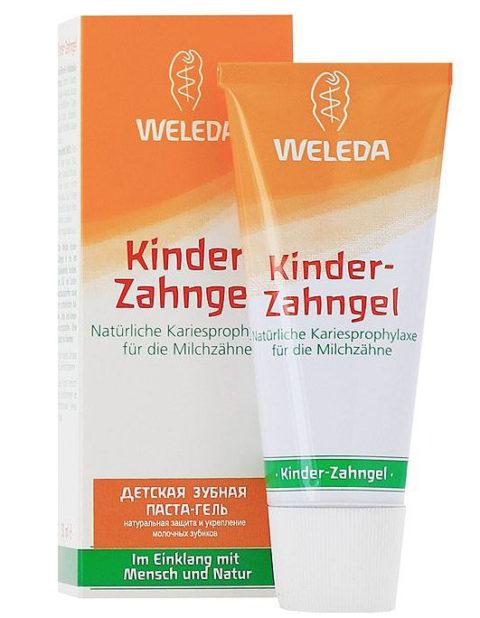 WELEDA Детская зубная паста-гель 50 мл