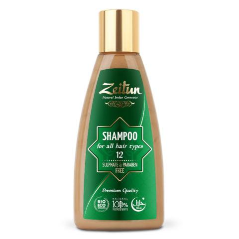 ZEITUN Алеппский шампунь №12 – для всех типов волос 150 мл