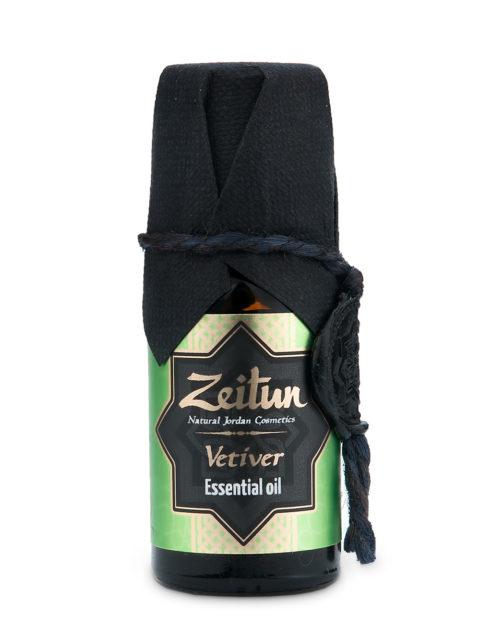 "ZEITUN Эфирное масло ""Ветивер"" 100% натуральное 10 мл"