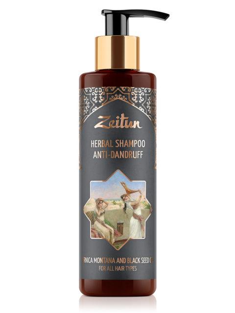 ZEITUN Фито-шампунь от перхоти с черным тмином и горной арникой 200 мл