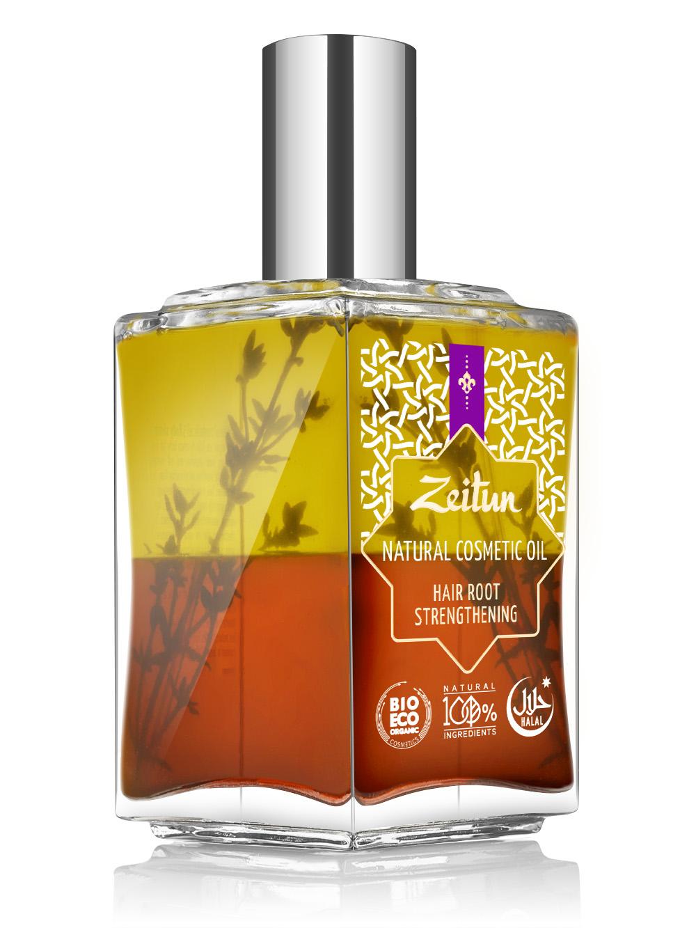 ZEITUN Косметическое масло №3 для укрепления корней волос 100 мл