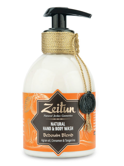 """ZEITUN Крем-мыло для рук и тела """"Бедуинский купаж"""": аргана"""