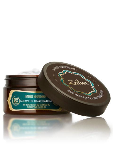 """ZEITUN Маска для волос """"Интенсивное питание"""" для сухих и ломких волос с маслом ши и клещевины 200 мл"""
