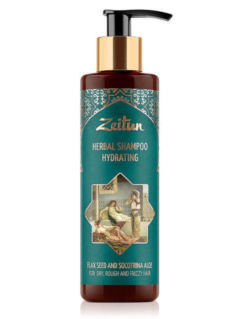 ZEITUN Набор Увлажняющий для волос фито-шампунь и фито-бальзам