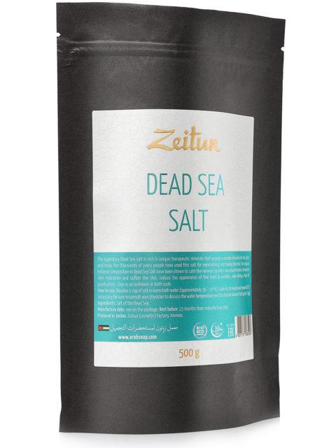 ZEITUN Натуральная соль Мёртвого моря 500 мл