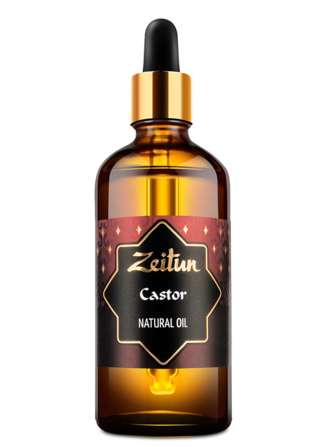 ZEITUN Натуральное растительное касторовое масло 100 мл