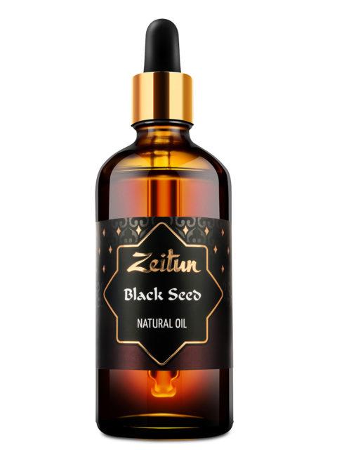ZEITUN Натуральное растительное масло черного тмина 100 мл