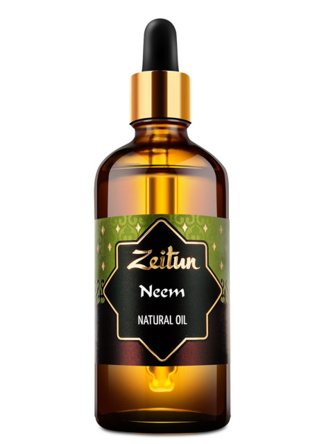 ZEITUN Натуральное растительное масло нима 100 мл