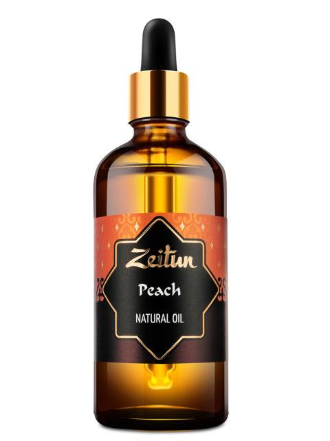 ZEITUN Натуральное растительное масло персиковой косточки 100 мл
