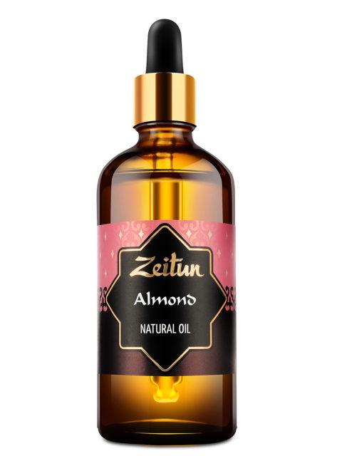 ZEITUN Натуральное растительное миндальное масло 100 мл