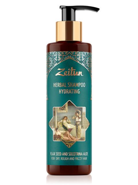 ZEITUN Увлажняющий фито-шампунь для сухих