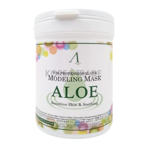 Anskin Modeling Mask Aloe Sensitive Skin & Soothing Альгинатная маска с экстрактом алоэ вера