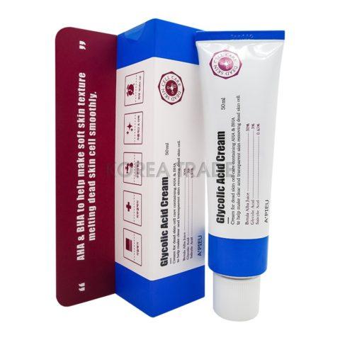 A'PIEU Glycolic Acid Cream Крем для лица с АНА и ВНА кислотами