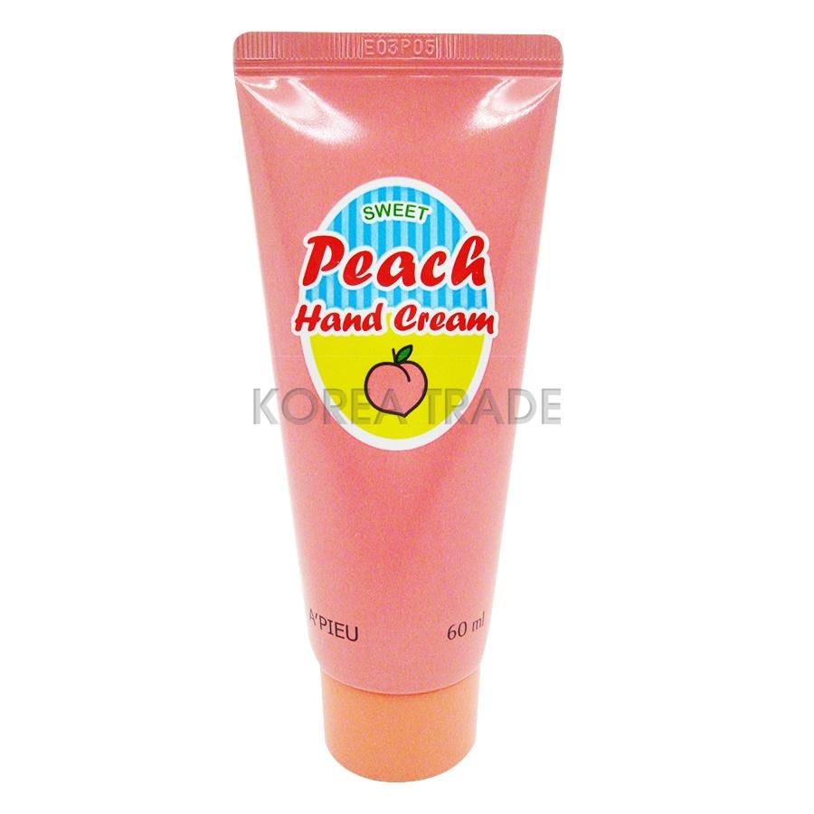 A&#39;Pieu Peach Hand <b>Cream</b> Крем для рук с экстрактом персика ...