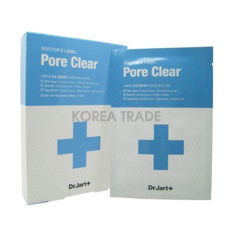 Dr.Jart+ DOCTOR'S LABEL Pore Clear Маска для очищения пор
