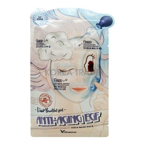 Elizavecca Anti-Aging EGF Aqua Mask Pack Маска трехступенчатая антивозрастная