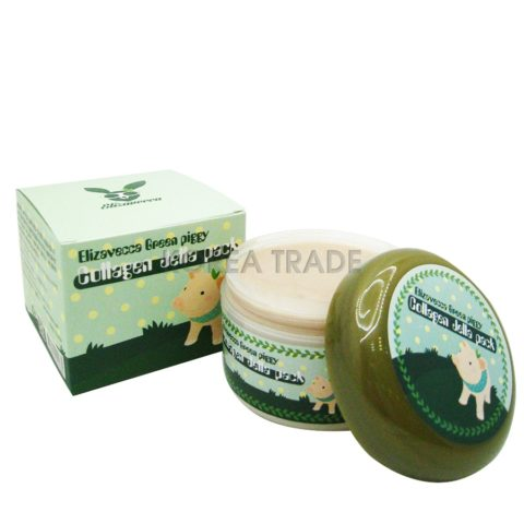 Elizavecca Green Piggy Collagen Jella Pack Гелевая коллагеновая маска