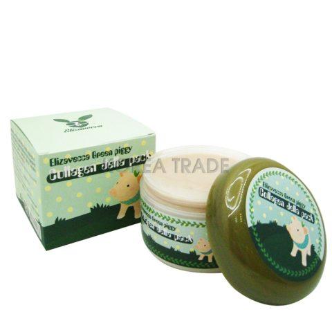 Elizavecca Green Piggy Collagen Jella Pack Гелевая коллагеновая маска
