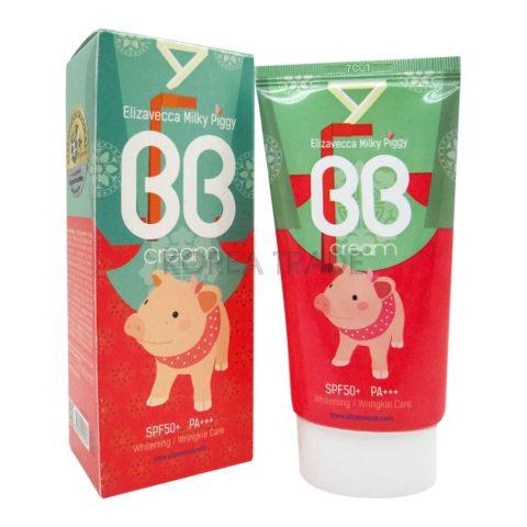 Elizavecca Milky Piggy BB Cream SPF50+ PA+++ ББ-крем с гиалуроновой кислотой и коллагеном