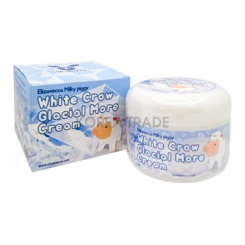 Elizavecca Milky Piggy White Crow Glacial More Cream Осветляющий крем для лица