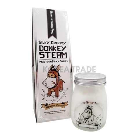Elizavecca Silky Creamy Donkey Steam Moisture Паровой увлажняющий крем с молоком ослиц