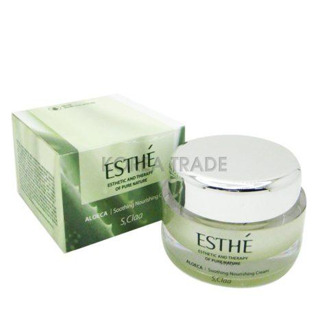 Enprani S'Claa Esthe Aloeca Soothing Nourishing Cream Питательный крем для лица с алоэ вера 50мл