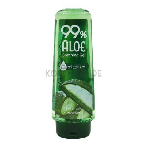 Etude House 99% Aloe Soothing Gel Универсальный гель с 99% содержанием экстракта сока алоэ вера