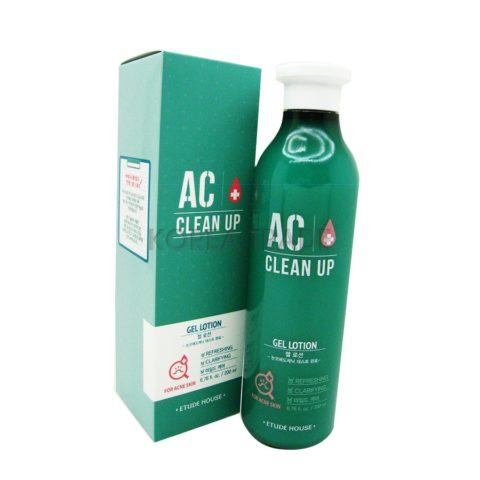 Etude House AC Clean Up Gel Lotion Гель-лосьон для проблемной кожи