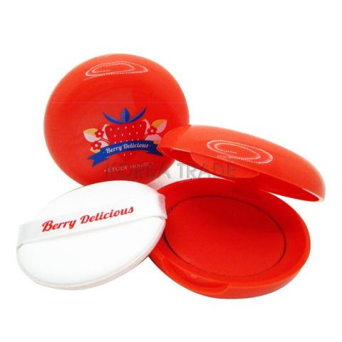 Etude House Berry Delicious Cream Blusher #1 RD301 Кремовые румяна