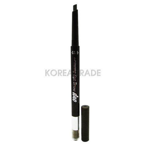 Etude House Drawing Eye Brow Duo #01 Dark Brown Двойной карандаш для бровей