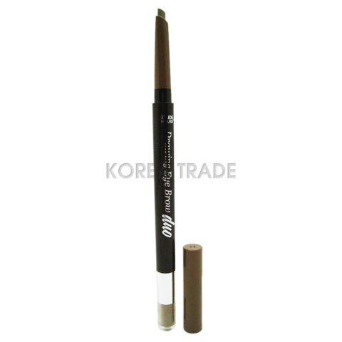 Etude House Drawing Eye Brow Duo #02 Light Brown Двойной карандаш для бровей