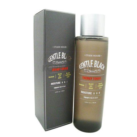 Etude House Gentle Black Energy Toner Энергетический тоник для мужской кожи