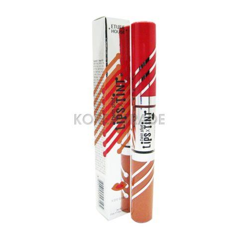 Etude House Twin Shot Lips Tint #BR401 Губная помада-тинт