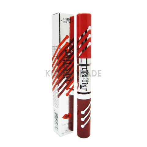 Etude House Twin Shot Lips Tint #RD303 Губная помада-тинт