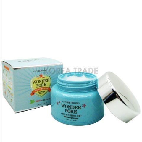 Etude House Wonder Pore Balancing Cream Крем балансирующий для жирной кожи
