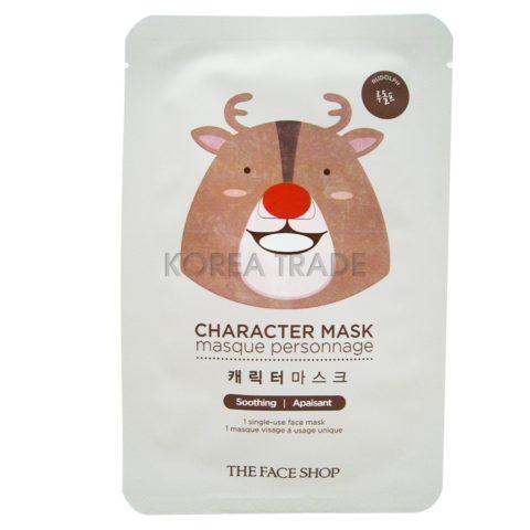 FaceShop Character Mask Rudolph Тканевая маска Рождественский олень