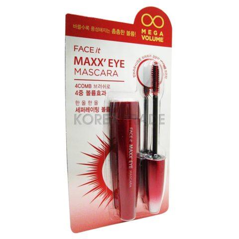 FaceShop Face It Maxx'Eye Mascara #01 MegaVolume Тушь для ресниц