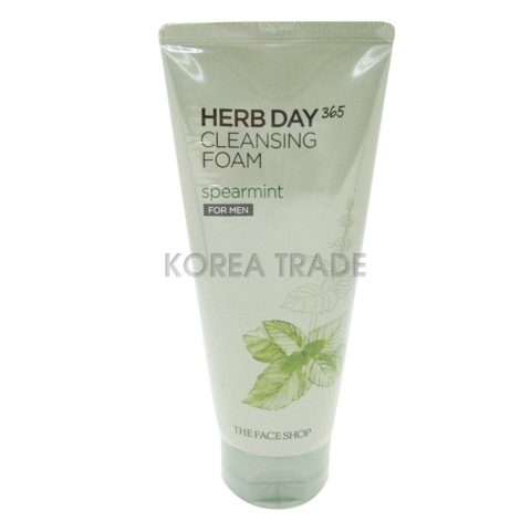 FaceShop Herb Day 365 Cleansing Foam Spearmint For Men Пенка для умывания для мужчин