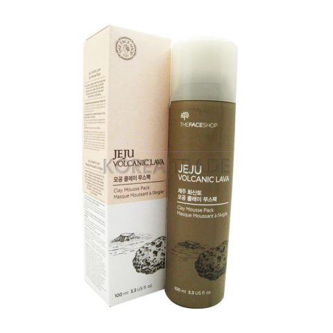 FaceShop Jeju Volcanic Clay Mousse Pack Глиняная маска для лица