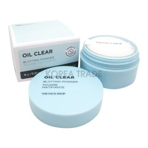 FaceShop Oil Clear Blotting Powder Рассыпчатая пудра для жирной кожи