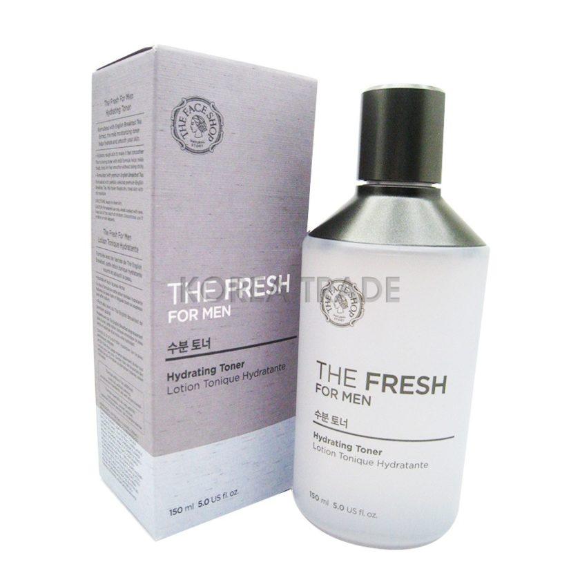 FaceShop The Fresh For Men Hydrating Toner Увлажняющий тоник для лица для мужчин
