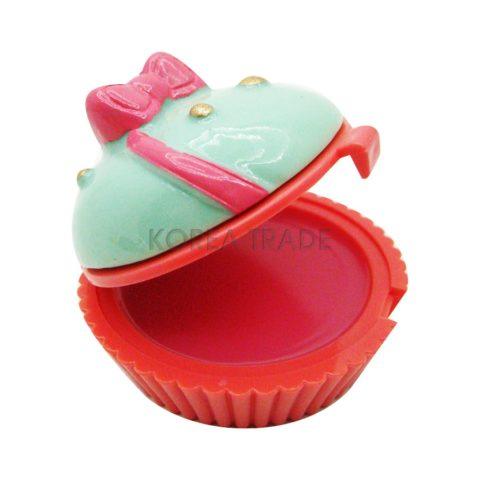 Holika Holika Dessert Time Lip Balm #02 Pink Cupcake Бальзам для губ
