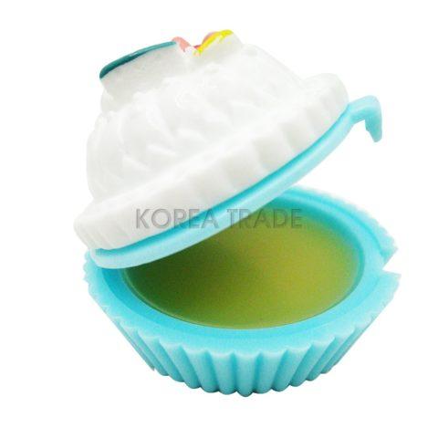 Holika Holika Dessert Time Lip Balm #06 Lemon Cup Cake Бальзам капкейк для губ