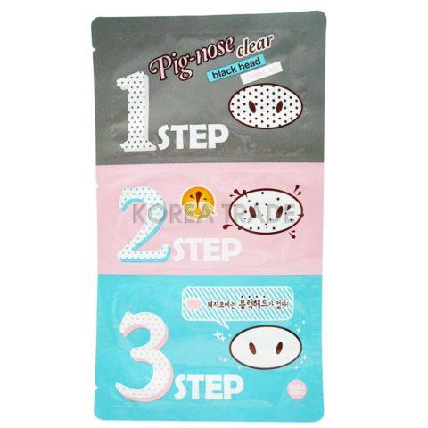 Holika Holika Pig-Nose Clear Black Head Kit 3-х ступенчатый набор средств для очистки пор